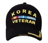Rothco Black Korean Veteran Cap - 9421