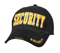 Rothco Black Sercurity Adjustable Cap - 9490