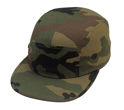 Rothco Woodland Camouflage Street Cap - 9500