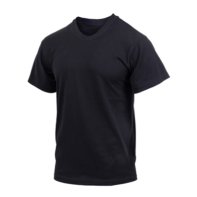 Rothco Black Moisture Wicking T-Shirt - 9590