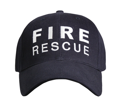 Rothco Navy Fire Rescue Cap - 9655