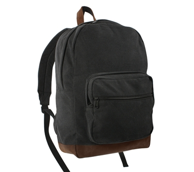 Rothco Black Canvas Teardrop Pack - 9667