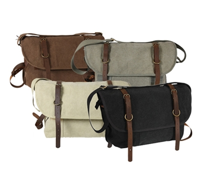 Rothco Vintage Canvas Explorer Shoulder Bag - 9684