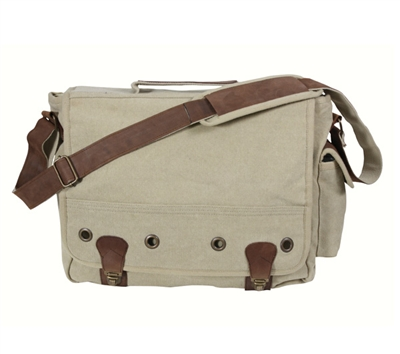Rothco Vintage Canvas Trailblazer Laptop Bag - 9692