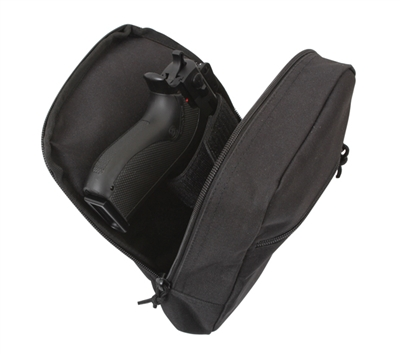 Rothco Black Concealed Carry Pouch - 9709