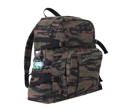 Rothco Tiger Stripe Jumbo Vintage Canvas Backpack - 9712