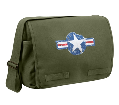 Rothco Olive Drab Air Corp Messenger Bag - 9756