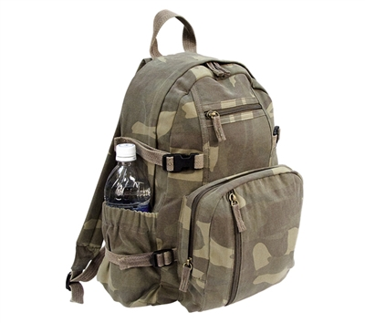 Rothco Vintage Woodland Camo Mini Backpack - 9762