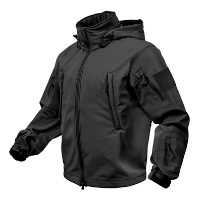 Rothco 9767 Black Special Ops Tactical Soft shell Jacket