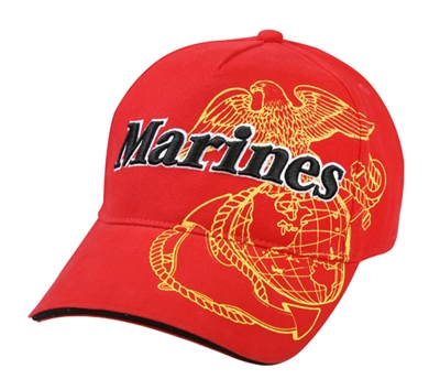 Rothco Red Marines Eagle Cap - 9784