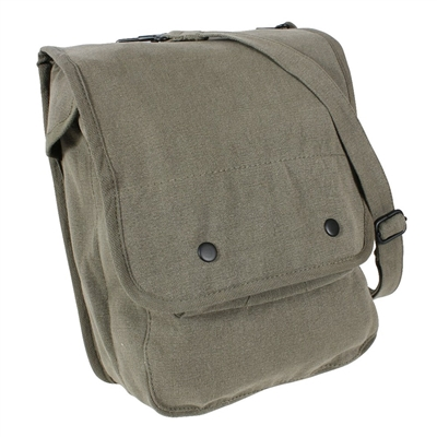 Rothco Olive Drab Vintage Canvas Map Case - 9796