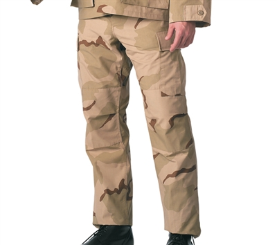 Rothco Tri Color Desert BDU Pants - 9815