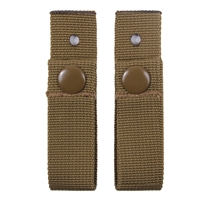 Rothco Coyote Brown MICH Helmet Goggle Straps - 9857