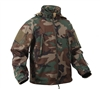 Rothco Woodland Camo Special Ops Soft Shell Jacket - 9906