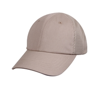 Rothcos Khaki Mesh Back Tactical Cap - 99551