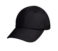 Rothcos Black Mesh Back Tactical Cap - 99552