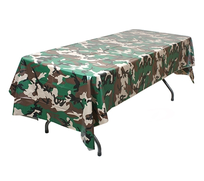 Rothco Woodland Camo Tablecloth - 9990