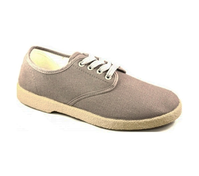 Zig-Zag Gray Wino Shoes - 7201