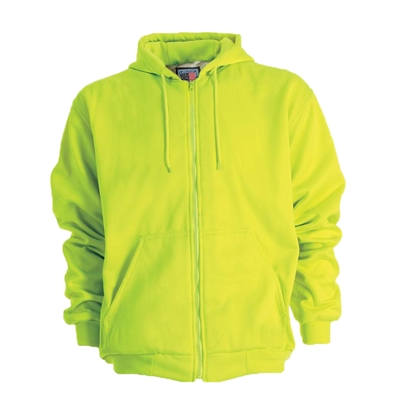 Snap N Wear High Visibility Thermal-Lined Hooded Sweatshirt - 5200