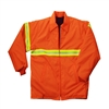Snap N Wear Fluorescent Orange Fingertip Length Jacket - 8019