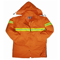 Snap N Wear Orange Safety Parka - 9000-IT