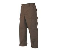 Tru-Spec Brown Poly Cotton Rip-Stop BDU Pants - 1343