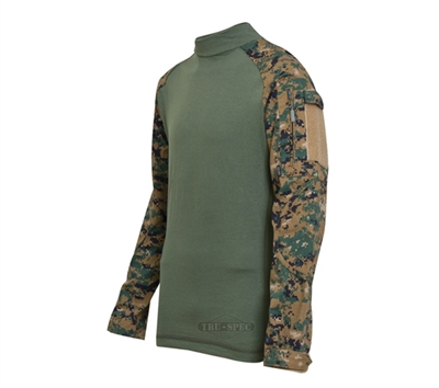 Tru-Spec TRU Woodland Digital Camo Combat Shirt - 2559