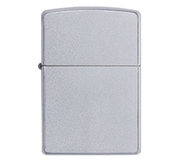 ZIPPO Regular Satin Chrome Lighter - 205