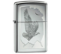 ZIPPO Eagles Birds Of Prey Engraved Lighter - 21069