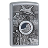 Zippo 24457Joined Forces Emblem Lighter