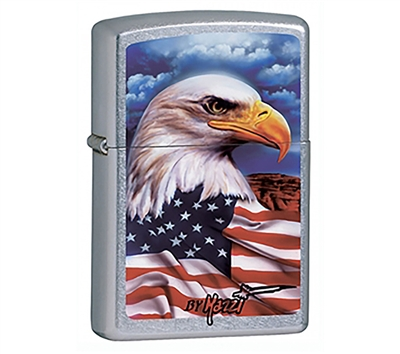 ZIPPO American Eagle and Flag Lighter - 24764