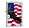 Zippo 78580 Eagle Flying On Flag Lighter