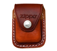 Zippo Brown Leather Lighter Pouch LPCB