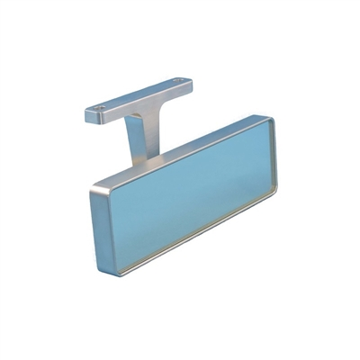 Lg. Top Mount Billet Rear View Mirror