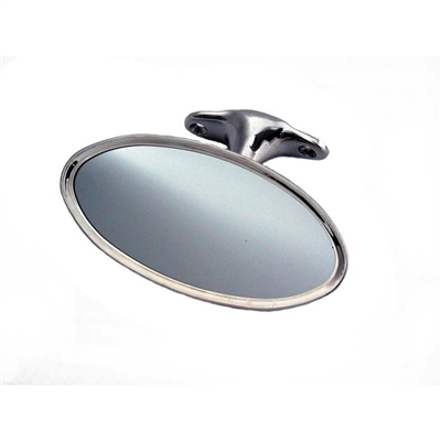 Top Mount Oval Rear View Mirror