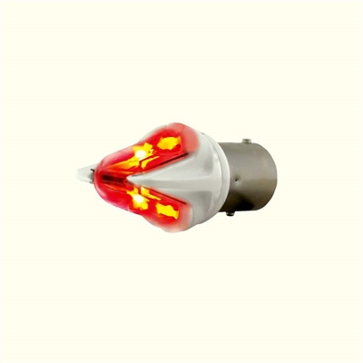 High Power LED 1157 Bulb - Red