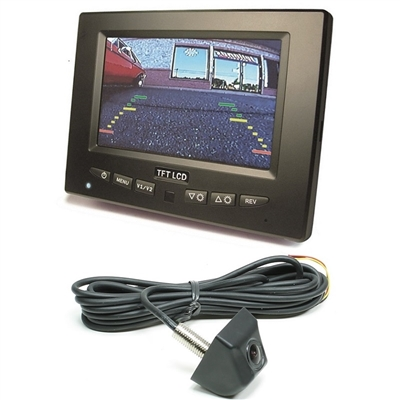 "RearSight System - 5"" Monitor - Stud Mount Camera"