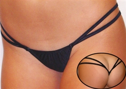 G206 - Double String V-Back Thong