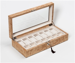 Karelian Birch Watch Box