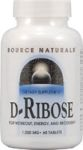 Source Naturals- D-Ribose 1000mg tablets 60 tabs