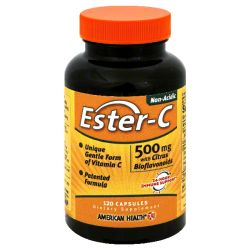 AMERICAN HEALTH - ESTER C 500MG CTRS BIOFLVNDS