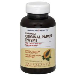 AMERICAN HEALTH - PAPAYA ENZYME ORGNL