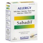BOIRON - SABADIL FOR ALLERGY