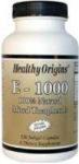 HEALTHY ORIGINS - VITAMIN E 1000