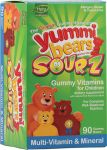 YUMMI BEARS - MULTI VIT SOURZ