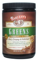 Barlean's Organic Oils- Chocolate Greens Pwdr 9.52oz