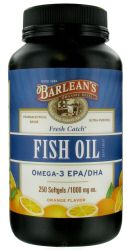 Barlean's Organic Oils- Fish Oil Capsules 250ct