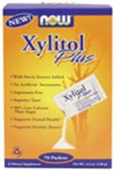 NOW - Xylitol Plus - 75 Packets