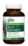 Gaia Herbs- BLACK ELDERBERRY 60 caps