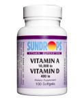 Sundrops- Vitamin A & D 10,000/400 softgel